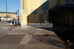 The 2019 Honorable Mention Award for Best Bomanite Exposed Aggregate Project Over 6,000 SF was awarded to our colleague Bomanite of Tulsa, Inc. for their installation of Bomanite Sandscape Texture to create the decorative concrete walkways and front entrance to the Tulsa County Family Center for Juvenile Justice and their craftsmanship and skillful installation met the design intent of the architect while creating an inviting and insightful exterior space.
