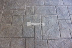 Bomanite Imprint Systems allow for design possibilities that aren't found with other textured paving options and the Bomacron Medium Ashlar Slate pattern featured here provides an English slate texture with beautiful design detail and will result in long lasting paving and flooring with minimal maintenance requirements.