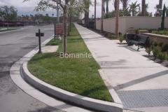 Bomanite Concealed Grasscrete Concrete Median Clubb Grading